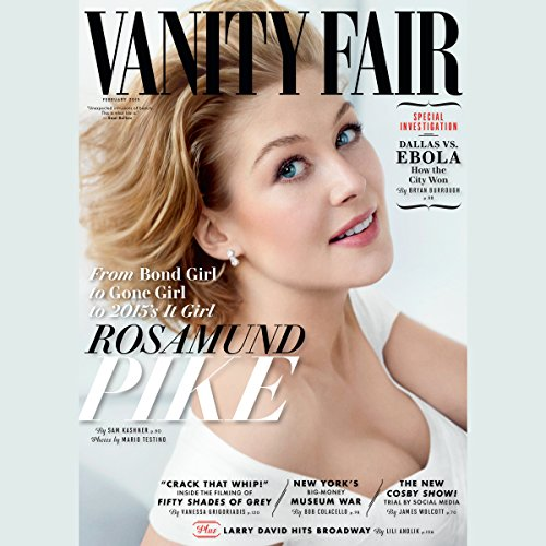 Vanity Fair: February 2015 Issue audiobook cover art