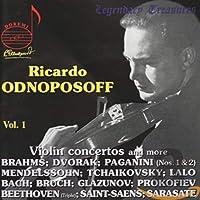 Legendary Treasures: Ricardo Odnoposoff 1