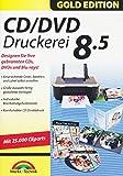 Markt + Technik CD/DVD Druckerei 8.5 Gold Edition, für Windows Vista/7/8/8.1/10