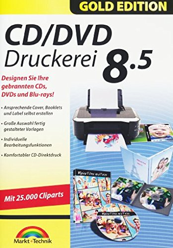 CD/DVD Druckerei 8.5 old Edition