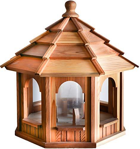 BCH WOODCRAFTERS Cedar Bird Feeder Gazebo 20