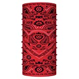 Buff Adult Original Multifunctional Headwear,One Size,Cashmere Red