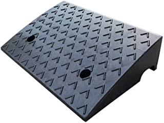 Truck Ramps, Outdoor Roadside Step Mat Factory Pier Loading Ramps Sturdy Rubber Service Ramps Size:48 * 32 * 12CM (Size : ...