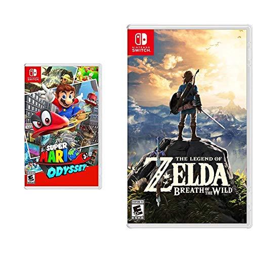 Super Mario Odyssey - Nintendo Switch & The Legend of Zelda: Breath of the Wild - Nintendo Switch