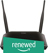 (Renewed) D-Link DIR-615 Wireless Router Without Modem (Black)