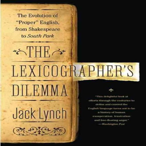 The Lexicographer's Dilemma audiobook cover art