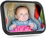[Actualizada]Espejo Retrovisor Coche Para Bebé, Victsing Gran Tamaño Ver Su...