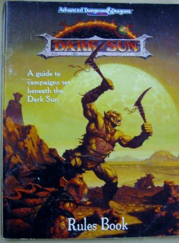 Dark Sun Rules Book (Advanced Dungeons and Dragons Dark Sun World)