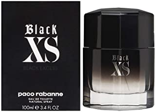Paco Rabanne BLACK XS EXCESS For Men 100ml - Eau de Toilette