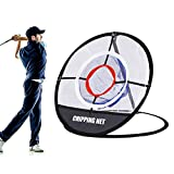 BOBLOV Golf Chipping Net, Pop Up Golf Net for Indoor Outdoor Training Golf Practice Net Collapsible Portable...