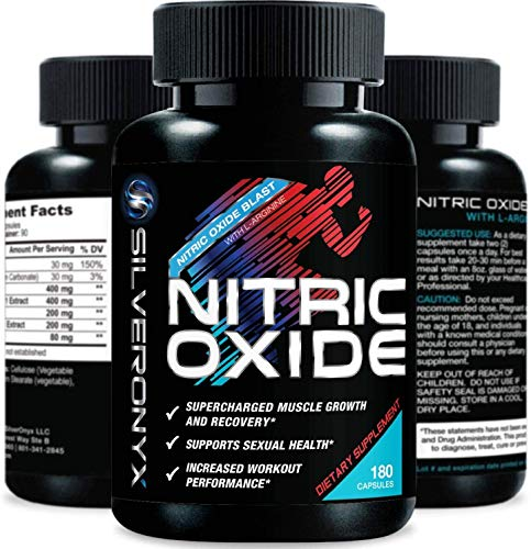 Extra Strength Nitric Oxide Supplement L Arginine 1300mg - Citrulline...