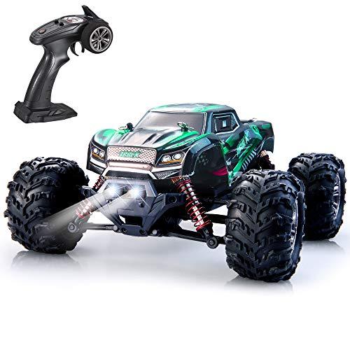 VATOS Ferngesteuertes Auto 4WD Elektro RC Auto 26 km/h Hochgeschwindigkeits 1:20 RC Monster Truck 2,4 GHz Rennwagen RC Crawler Spielzeug für Kinder und Erwachsene Bestes Geburtstags Geschenk (Grün)