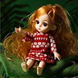 Princess Fairy Doll,Super Flexible Doll- Equipped with 2 Kinds of Exquisite Costumes and Shoes, Princesses and Fairy Tales, Surprising Birthday