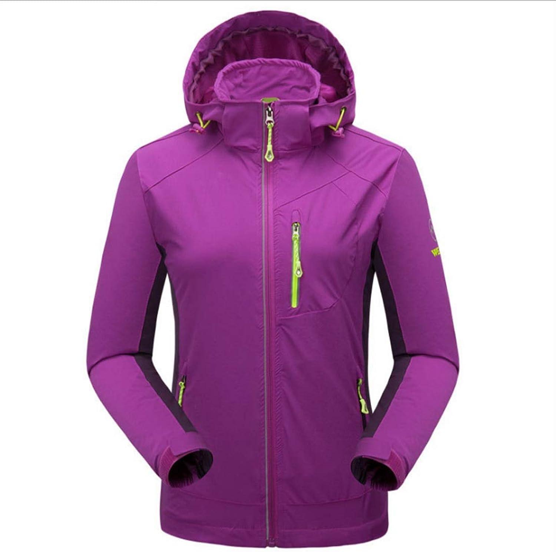 RVINFENDRIYUN YY4 Damen Mountain Waterproof Skijacke Windproof Rain Jacket Windbreaker