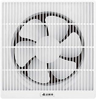 Ventilador de ventilación Ventilador Ventilador de Pared Ventana baño Cocina Negro de Humo silencioso Potente