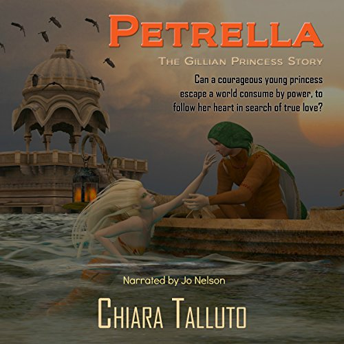 Petrella, the Gillian Princess audiobook cover art