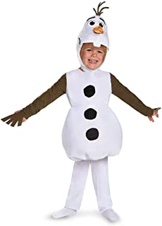 Disguise Olaf Toddler Classic Costume, Large (4-6)