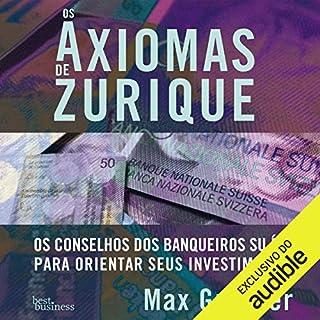 Os axiomas de Zurique [The Axioms of Zurich] audiobook cover art