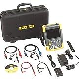 Fluke Scope metros 200MHz Color Fluke 190–202/S 2,5GS/S con SCC Kit de osciloscopio 0095969601634