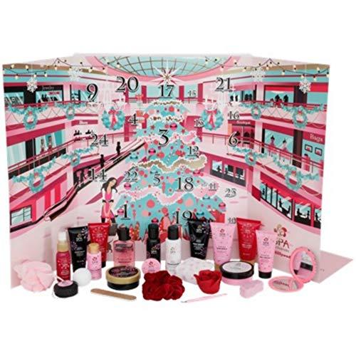 Lifetime Coffret Calendrier DE L Avent COSMETIQUE LOT 24X Produit Beaute Spa Soin Creme Cadeau Original Noel Avan