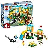 LEGO 4+ Aventura en el Parque de Juegos de Buzz y Bo Peep, Juguete de Construcción de Toy Story 4, Incluye Tobogán y...