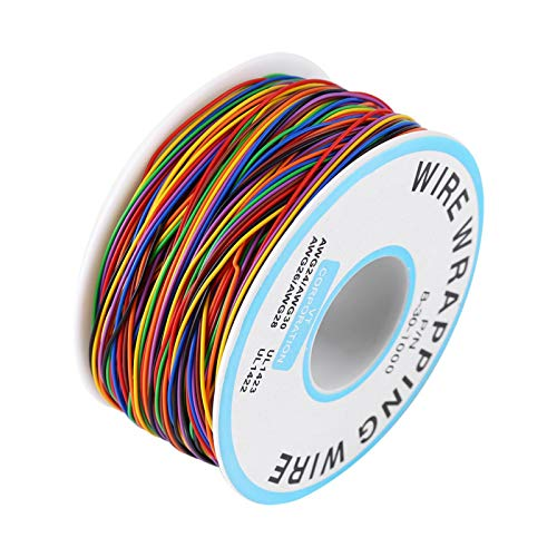 Isoleringsbelagd testlindningstråd 8 färger beställningsnummer B-30-1000 isoleringstest-lindkabel 280 m