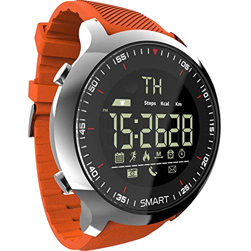 FRWPE Smart Watch mannen Sport LCD Waterdichte Pedometers digitale horloges BT Zwemmen Mannen Smartwatch Stopwatch voor ios Android
