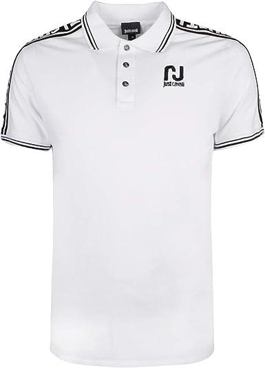 Just Cavalli Hombre Polo Shirt S03GL0017 100 100 Camisa Polo ...