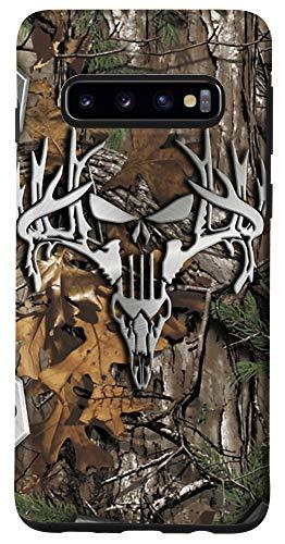 Galaxy S10 Deer Hunting Metal Camouflage Deer Hunt Lover Gift Case