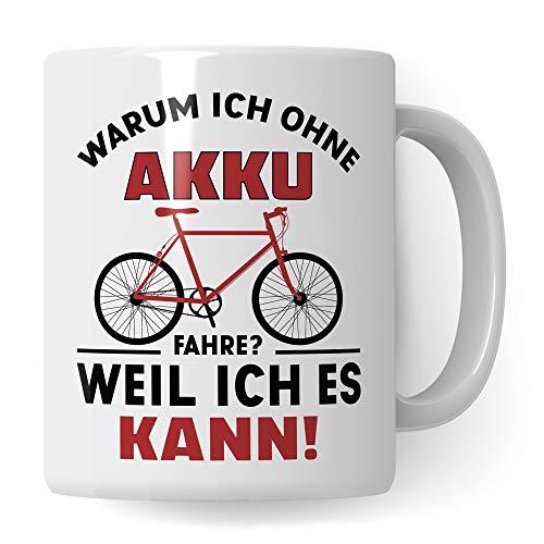 Pagma Druck Fahrrad Tasse lustig, Geschenk Fahrradfahrer Männer, Becher Fahrradmotiv Fahrräder, Rennrad Mountainbike Fahrrad Geschenkideen lustig Radsport Radfahren Radfahrer Kaffeetasse