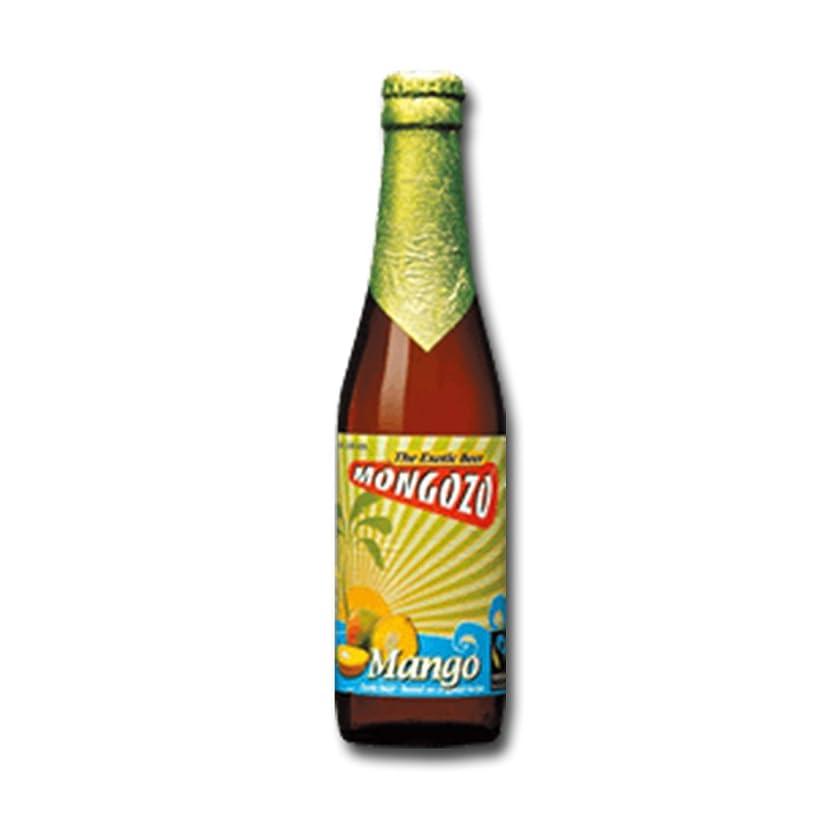 タブレット岸遅滞モンゴゾ マンゴー 3.6度 330ml 24本セット(1ケース) 瓶 ベルギー ビール [並行輸入品]