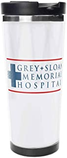 Grey Sloan Memorial Hospital Ceramic Travel Mug Stainless Steel Travel Mug, Insulated 15oz Coffee Tumbler