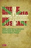 Breve historia de Euskadi: De los fueros a la autonomía