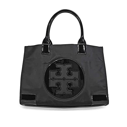 bfb7c539701f Tory Burch Womens Black Nylon Ella Mini Tote Bag 45207-001