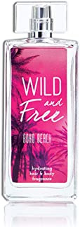 Wild and Free Boho Beach Hydrating Hair & Body Fragrance by Tru Western, Perfumes for Women - Coconut Water, Jasmine, Vanilla, Musk, Water Lily, and Pink Amber - 3.4 oz 100 mL