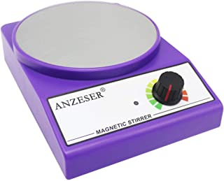 ANZESER Magnetic Stirrer Magnetic Mixer 3000 RPM with Stir Bar Max Stirring Capacity 3000mL, Purple
