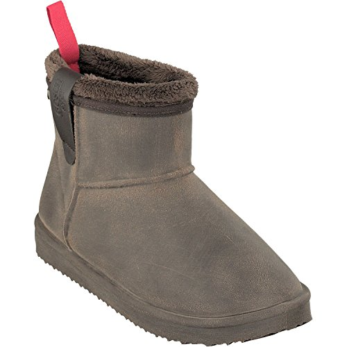 GOSCH SHOES Damen Winter Low-Cut Boots gefüttert Wasserdicht 7118-602 in 2 Farben (37 EU, Dunkelbraun)