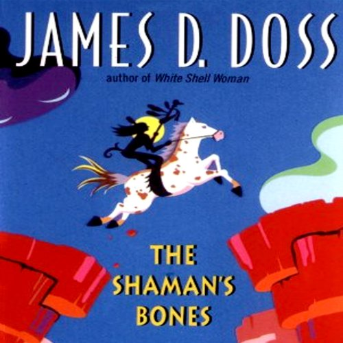 The Shaman's Bones audiobook cover art