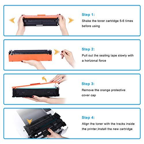 Cool Toner Compatible Toner Cartridge Replacement for HP 410A CF410A Black Toner for HP Color Laserjet Pro MFP M477fnw M477fdw M477fdn M477 Pro M452dn M452nw M452dw M452 M377DW Printer Toner-1 Pack Photo #5