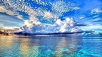 Blue Ocean anAmazing Beautiful Sky