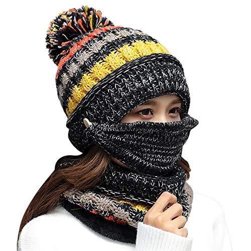 Dosoni Women Girl Winter Hats Knit Soft...