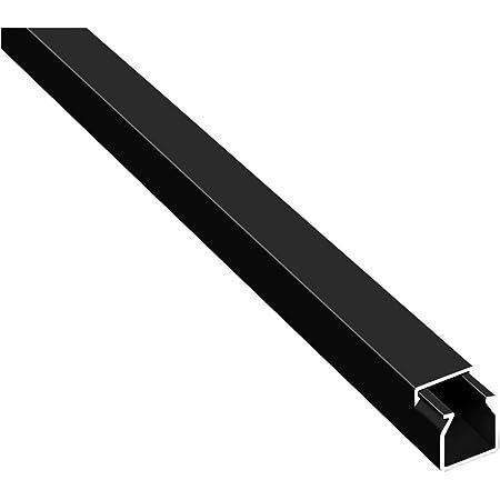 20m Kabelkanäle Selbstklebend Kabelkanal Schwarz Mit Schaumklebeband Fertig Für Die Montage 12x12mm Bxh Baumarkt