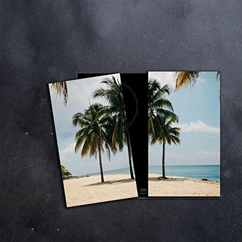 CTC de Trade |herdabdeckplatten Juego 2x 30x 52cm vitrocerámica protectora de cristal...