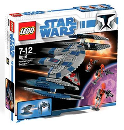 LEGO Star Wars 8016 - Hyena Droid Bomber - Bombardero droide Hiena