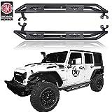 u-Box Jeep Wrangler JK Unlimited Side Step Running Board Nerf Bars for 2007-2018 Jeep Wrangler 4 Door