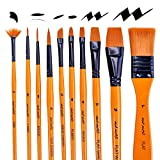 Mont Marte Art Paint Brushes Set for Painting