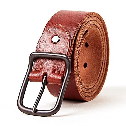 ZPMY Cinturón, cinturón de hombre multifunción, material de cuero plantado de cuero de vaca