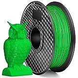 LONENESSL 3D PLA Printer Filament 1.75mm 1KG Spool Printer Filament Bundle, Dimensional Accuracy +/- 0.02 mm Printer Consumables Fluorescent Green