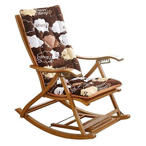 Coussin inclinable épais N /A pour chaise longue, coussin de rechange pour chaise longue et chaise pliante imprimée (couleur : 2), 2