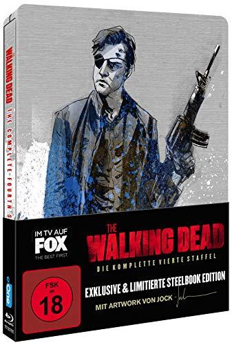 The Walking Dead - Staffel 4 (Limited Jock Comic Steelbook) [Blu-ray]